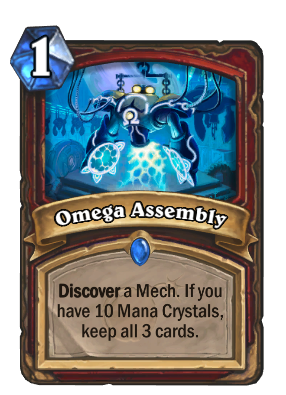 Omega Assembly Card Image