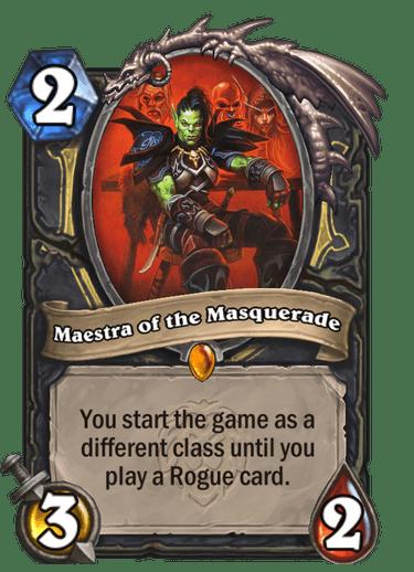 Maestra of the Masquerade Card Image