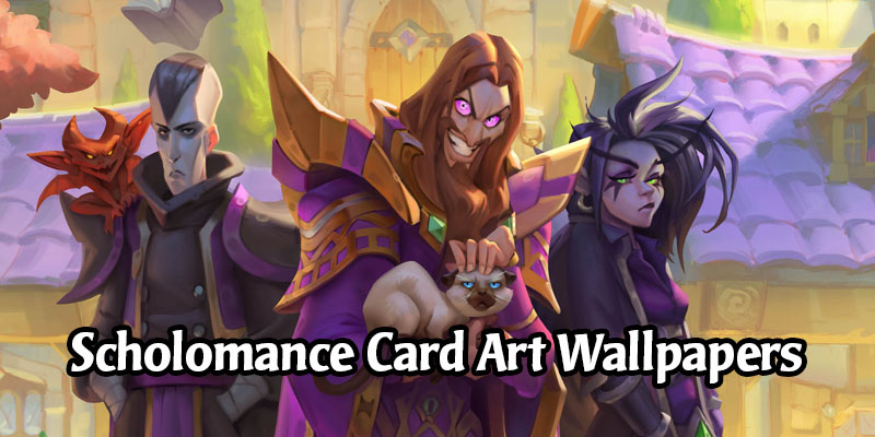 Scholomance Academy Card Art Wallpapers - Desktop & Mobile Versions (HD)