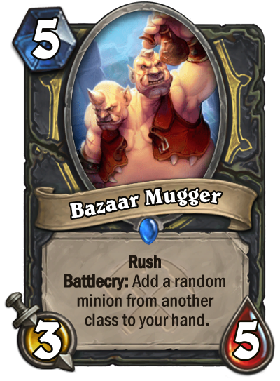 Bazaar Mugger Card Image