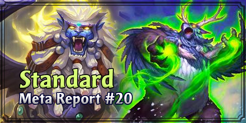 Standard Meta Report #20 - Top Hearthstone Decks January 19, 2020 - January 26, 2020