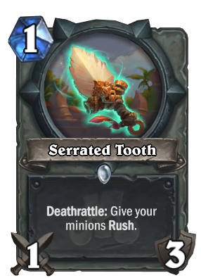 Serrated Tooth Card Image