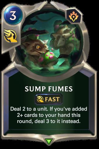 Sump Fumes Card Image