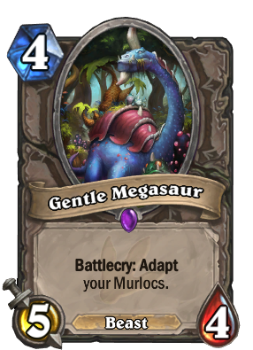 Gentle Megasaur Card Image