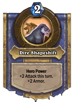 Dire Shapeshift Card Image