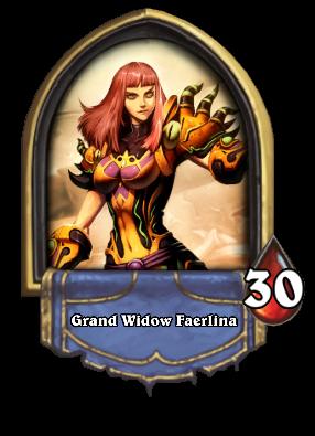 Grand Widow Faerlina Card Image