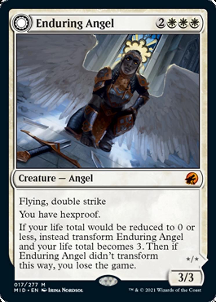 Enduring Angel // Angelic Enforcer Card Image