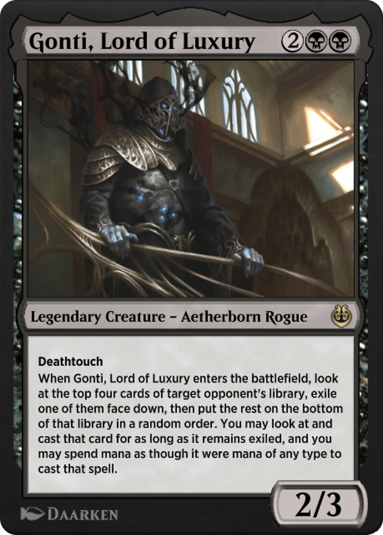 Gonti, Lord of Luxury Card Image