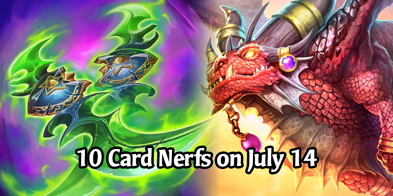 10 Card Nerfs Arriving in Hearthstone on July 14! Targets Demon Hunters, Galakrond Rogue, Pirates & More