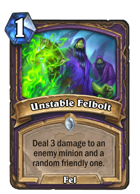 Unstable Felbolt Card Image