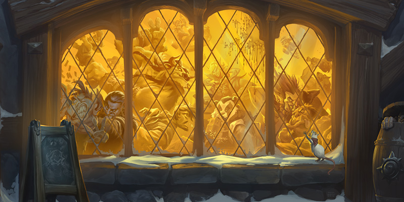 "This Week's Tavern Brawl is ""Rumbledome"" and Features Dual-Class Heroes & Unique Weapons"