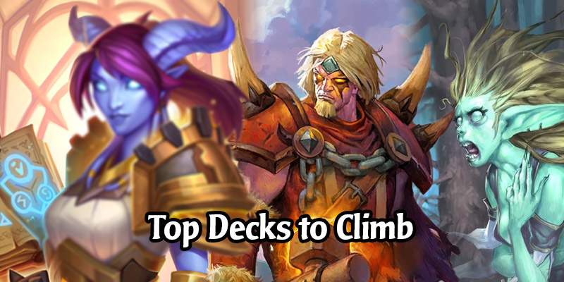 Top Hearthstone Decks to Climb Before Darkmoon Faire Hits Next Week - Grind That Experience!