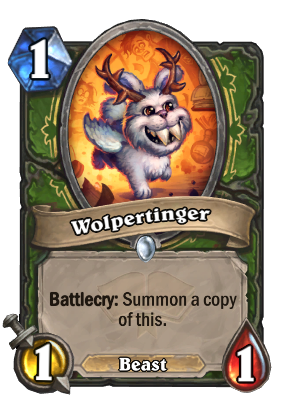 Wolpertinger Card Image