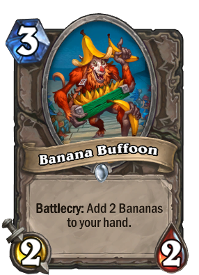 Banana Buffoon Card Image