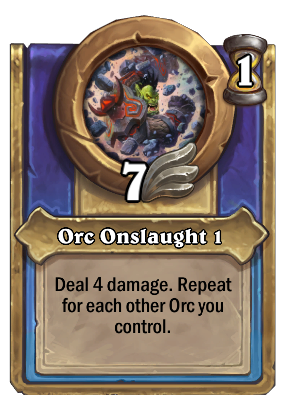 Orc Onslaught 1 Card Image