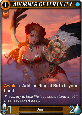 Adorner Of Fertility Card Image