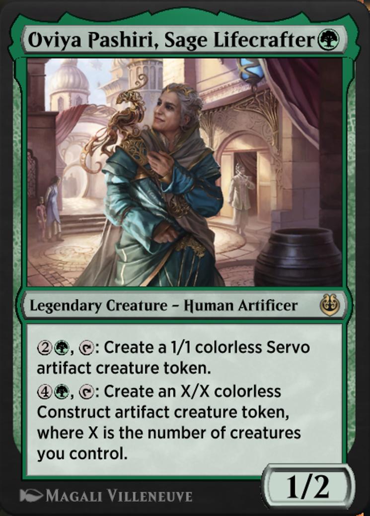 Oviya Pashiri, Sage Lifecrafter Card Image