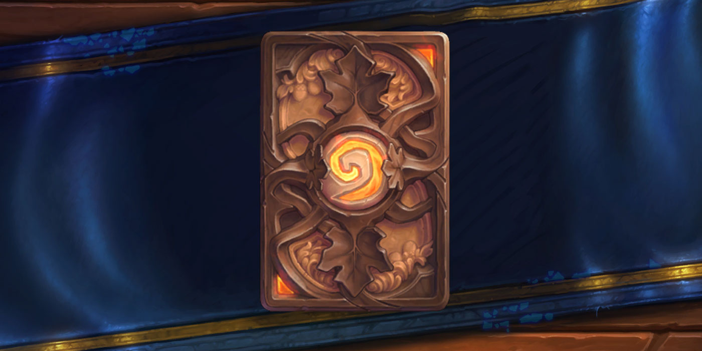 Hearthstone's November Card Back is a Masterclass in Dwarven Woodworking - Carved Autumn