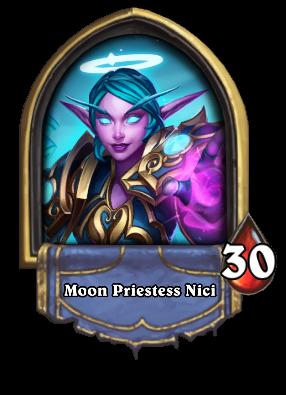 Moon Priestess Nici Card Image