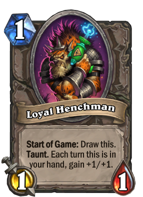 Loyal Henchman Card Image
