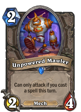Unpowered Mauler Card Image
