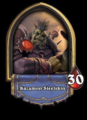 Kazamon Steelskin Card Image