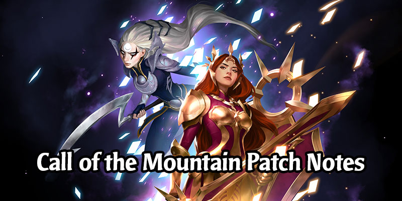 Patch 1.8 Call of the Mountain Notes