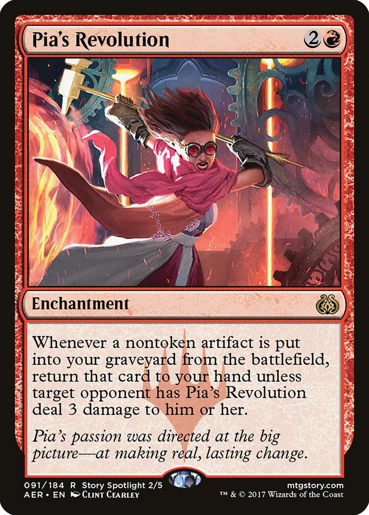 Pia's Revolution Card Image