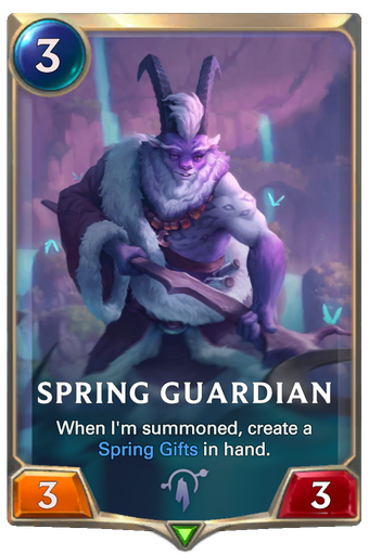 Spring Guardian Card Image