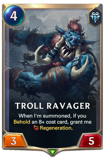 Troll Ravager Card Image