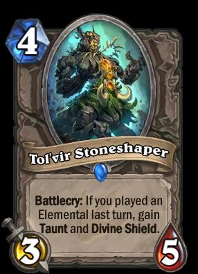 Tol'vir Stoneshaper Card Image