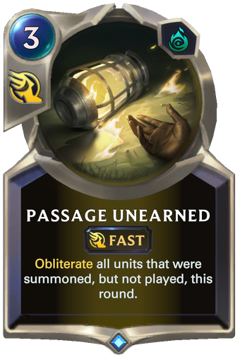 Passage Unearned Card Image