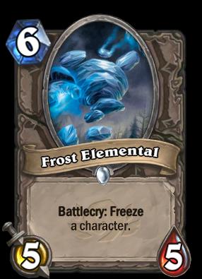 Frost Elemental Card Image