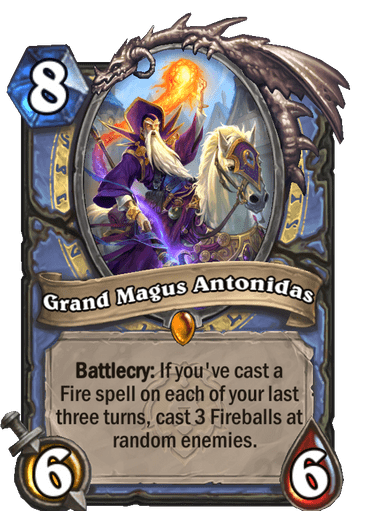 Grand Magus Antonidas Card Image