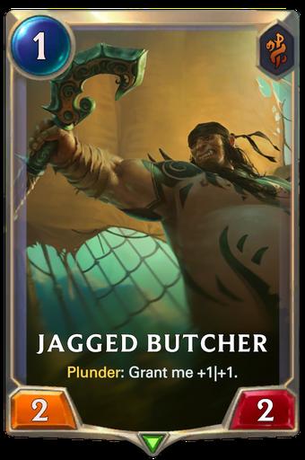 Jagged Butcher Card Image