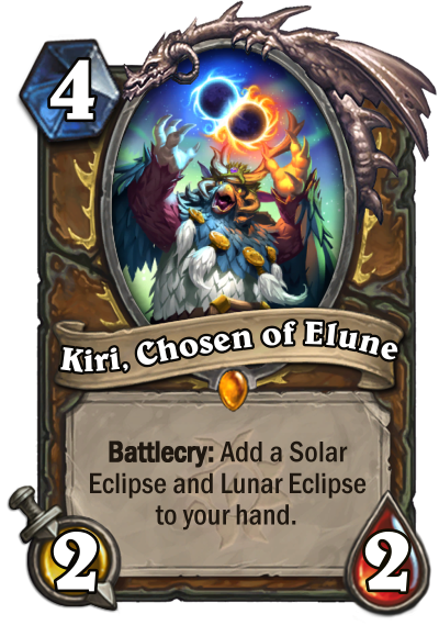 Kiri, Chosen of Elune Card Image