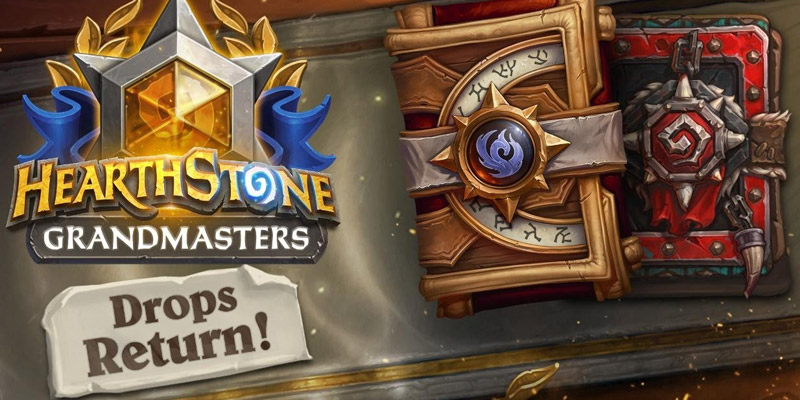 Free Card Pack Drops Return to Hearthstone Grandmasters Streams, Masters Tour, and World Championship