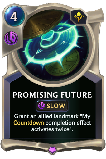 Promising Future Card Image