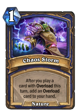 Chaos Storm Card Image
