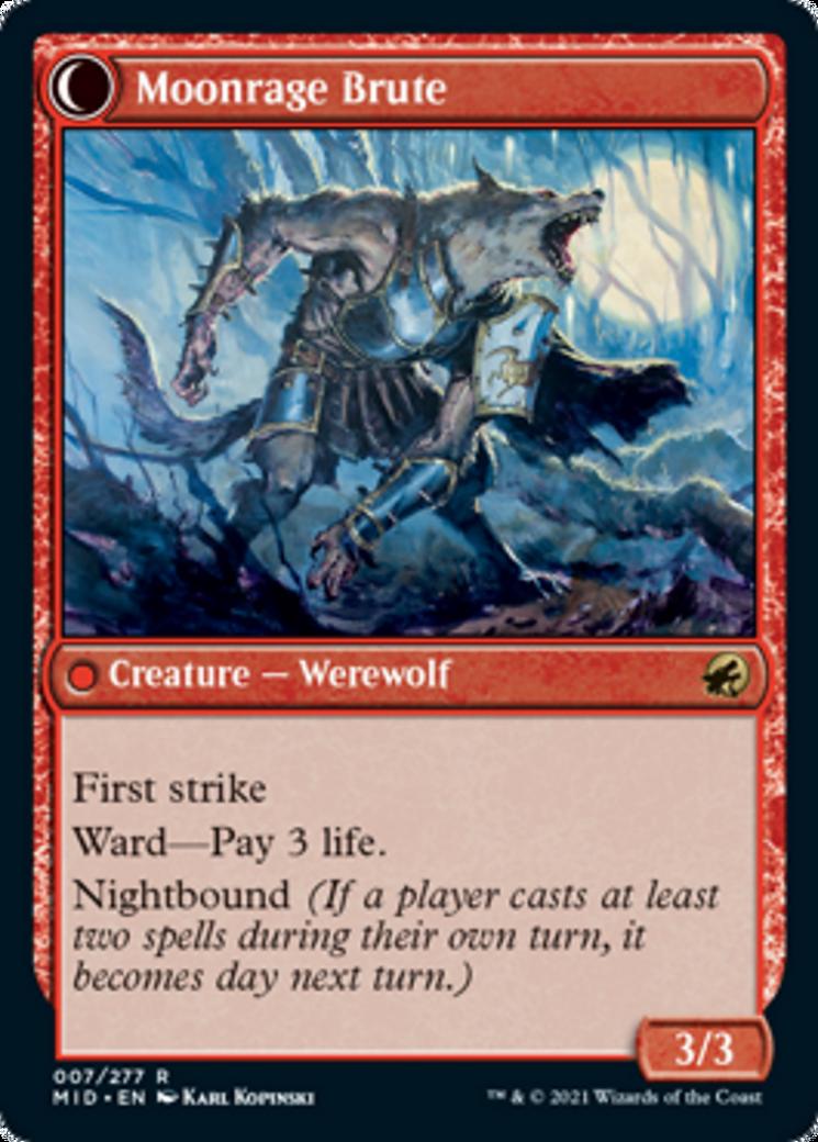Brutal Cathar // Moonrage Brute Card Image
