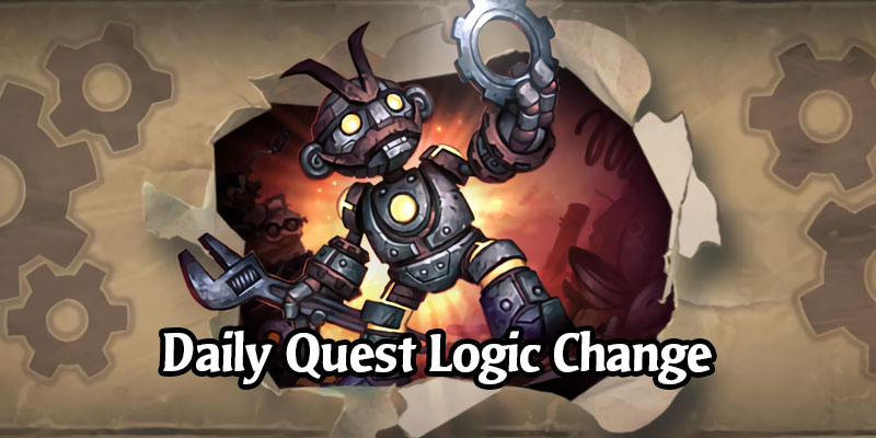 A Change to Daily Quest Logic in Hearthstone's Latest Patch is Now Confirmed