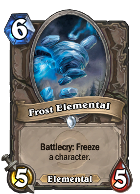 Frost Elemental Card Image