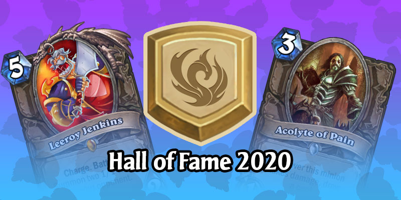 Goodbye Leeroy Jenkins - Hearthstone Announces the 5 Cards Rotating to the Hall of Fame for 2020