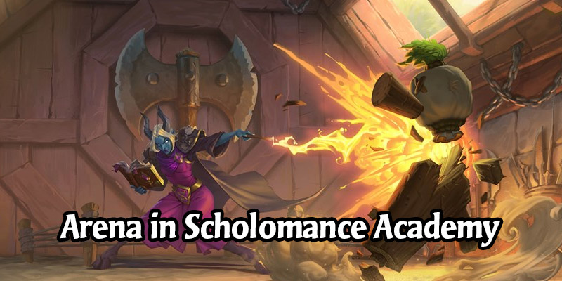 Hearthstone Arena in Scholomance Academy - Our Thoughts on the Rotation and New Cards