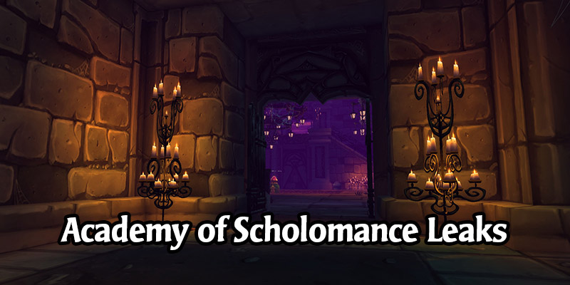 Is the Next Hearthstone Expansion Scholomance Academy? Several Leaks Point to the School of Necromancy