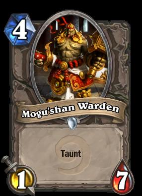 Mogu'shan Warden Card Image