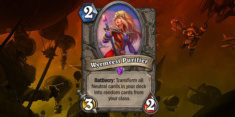 New Card Reveal - Wyrmrest Purifier