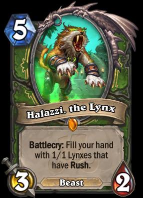 Halazzi, the Lynx Card Image