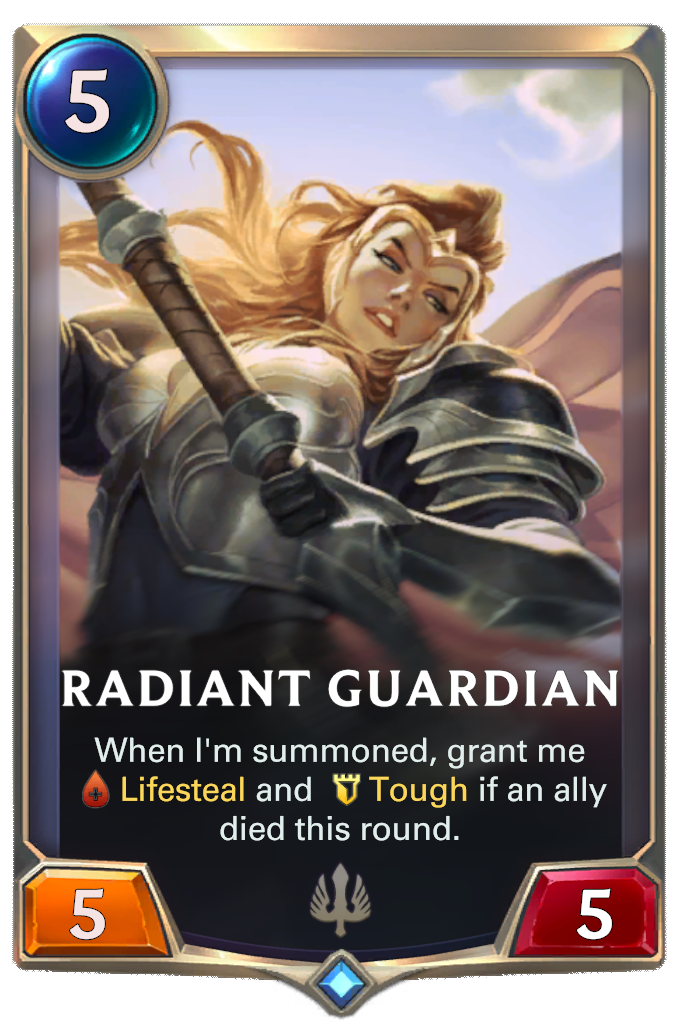 Radiant Guardian Card Image