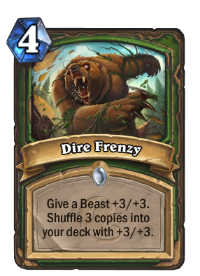 Dire Frenzy Card Image